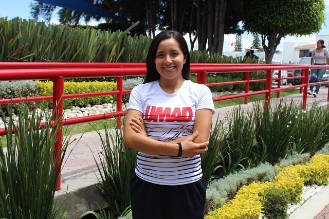 María Fernanda Hernández, atleta UMAD busca la internacionalización
