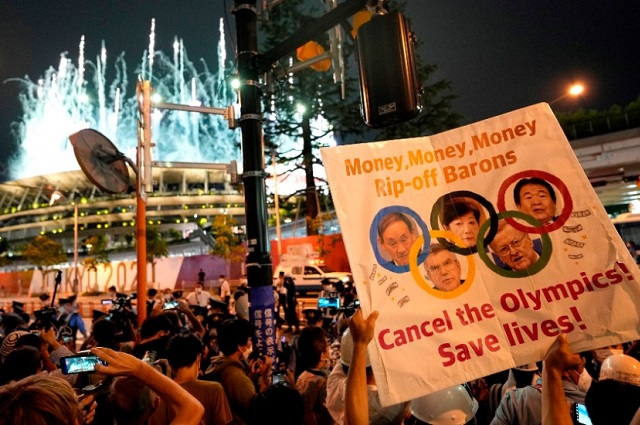 Un detenido por protestas contra los Juegos Olímpicos
