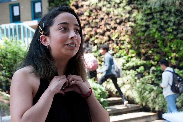 Mariana González, la alumna un millón del CCH de la UNAM
