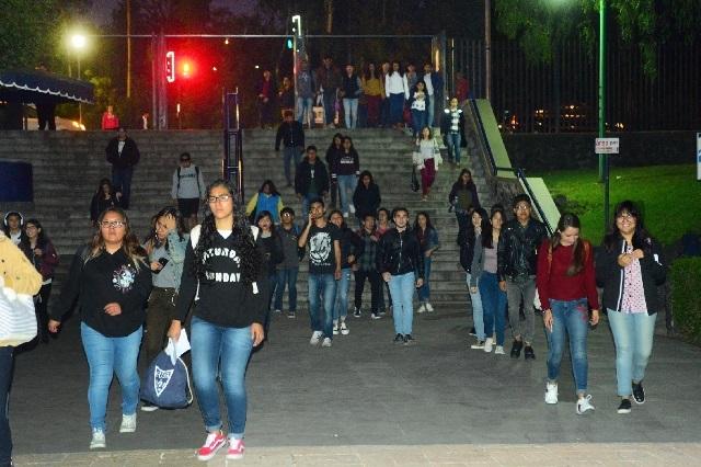 Tuvieron clases la mayoría de escuelas y facultades de la UNAM