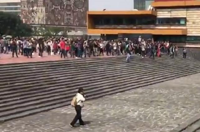 Expulsado de la UNAM culpa a estudiantes del pleito en CU