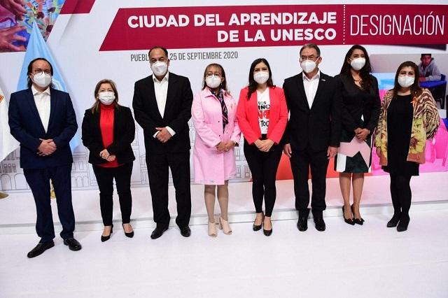 Puebla ingresa a la Red de Ciudades del Aprendizaje