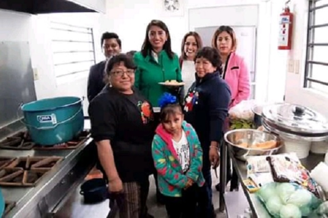 Inauguran Unidad Móvil Alimentaria en Huejotzingo