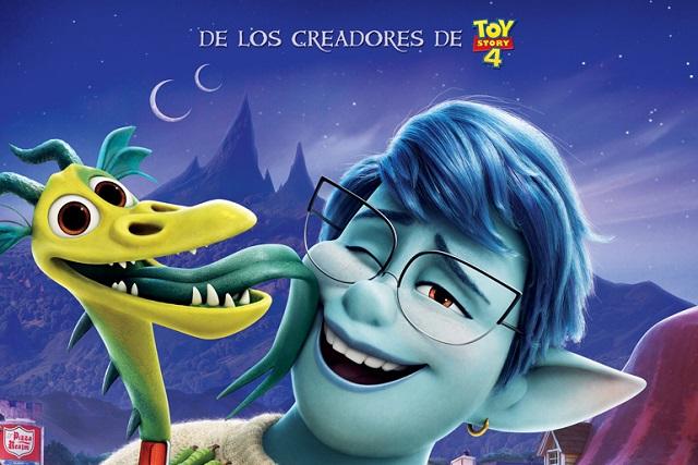 5 posters de la película Unidos, de Disney Pixar