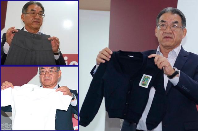 Denuncia SEP el sobrecosto de uniformes ante FGE de Puebla