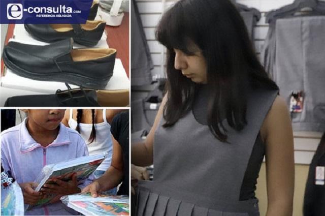Sí repartirán un millón de uniformes gratuitos en Puebla