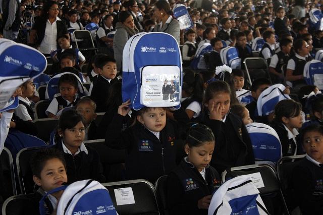 En enero concluye SEP entrega de uniformes gratuitos en primarias