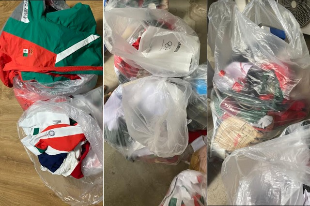 Uniformes de selección mexicana de Softbol terminan en la basura