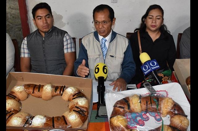 Aumento de hasta 12% en precios de la Rosca de Reyes