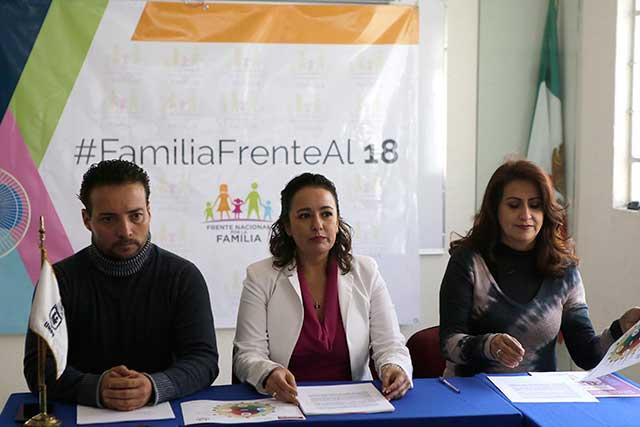 FNF rechazará candidatos que no apoyen la familia tradicional