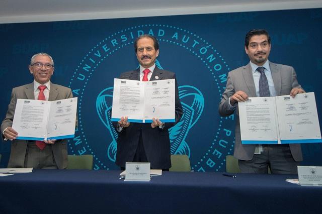 Firma BUAP convenio con la Comisión Nacional de Hidrocarburos (CNH)