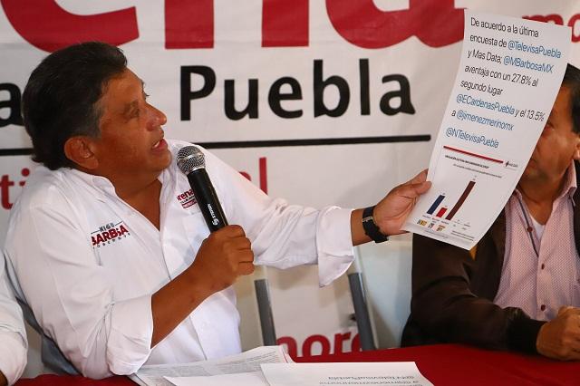 Morena exige a Cárdenas y al PAN reconocer triunfo de Barbosa