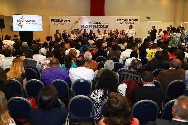 Llegan 21 mil propuestas a programa Diálogos por el bienestar, de Barbosa