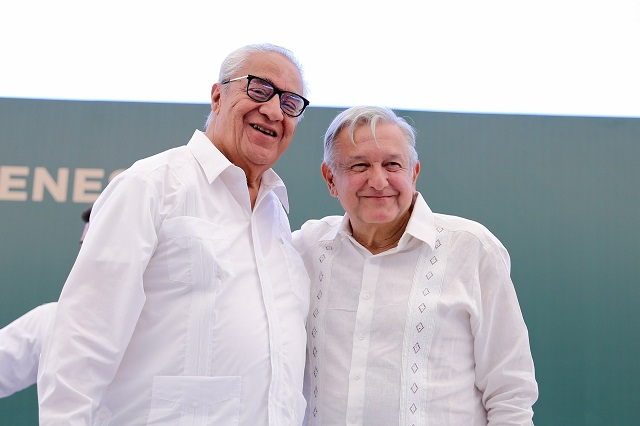 Pacheco Pulido garantizó la libertad ciudadana en la elección: López Obrador