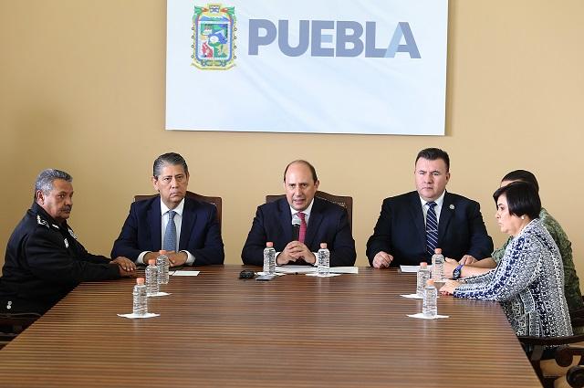 Se aplicará la ley con firmeza para garantizar la seguridad: Manzanilla