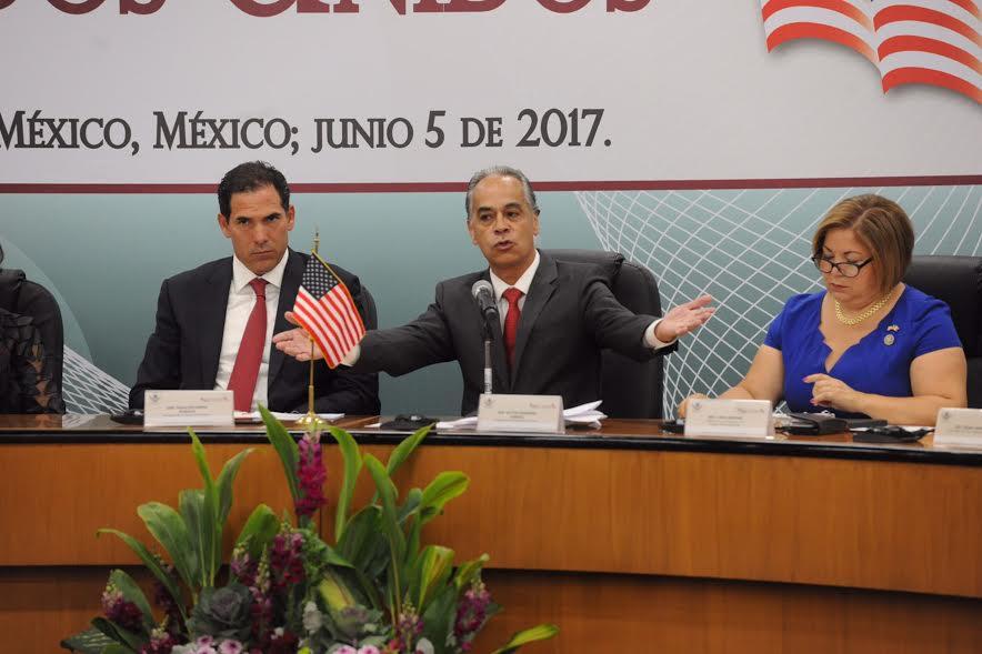 Diálogo sobre retos compartidos marca Reunión Interparlamentaria México-EEUU