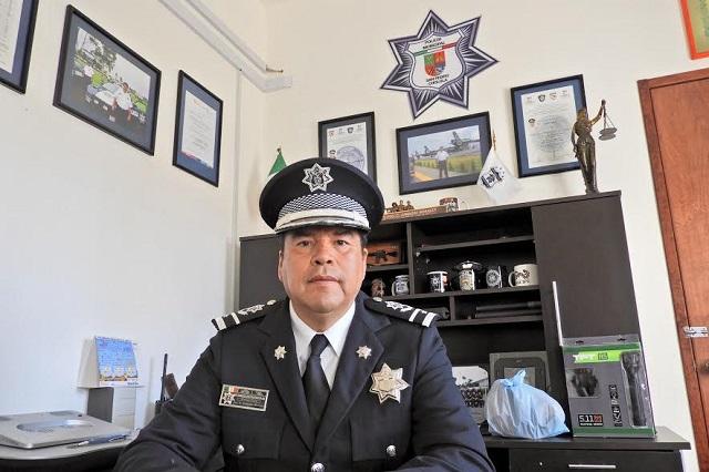 Urgen a San Pedro Cholula 44% más policías para cubrir mínimo