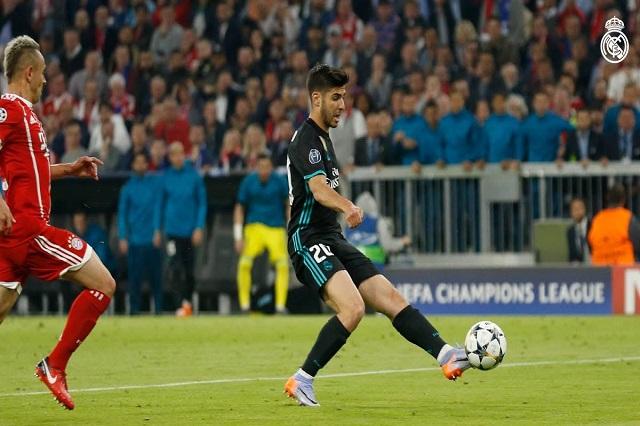 Real Madrid  toma ventaja; 2 a 1 vence al Bayern