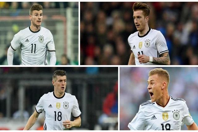 Alemania presenta su lista previa para el Mundial de Rusia