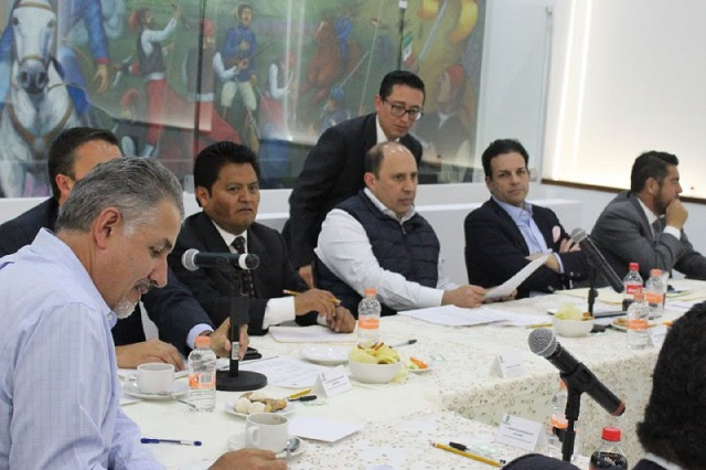 Respalda ejecutivo estatal gestión de presidentes municipales