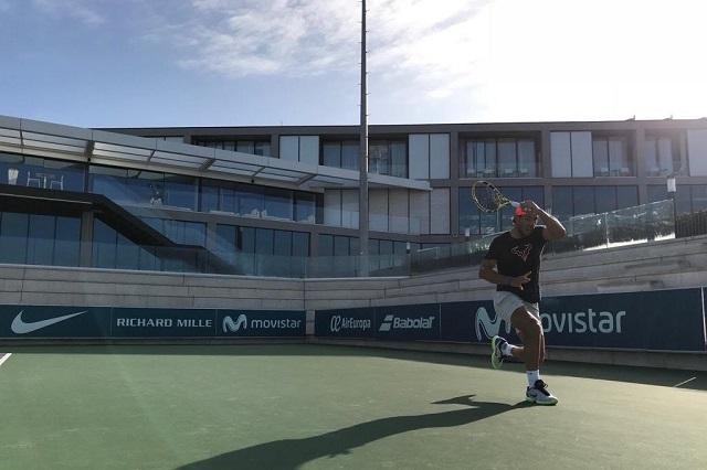 No pienso retirarme en varios años, dice Rafael Nadal