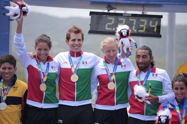 México es número 1 en medallero de Barranquilla 2018
