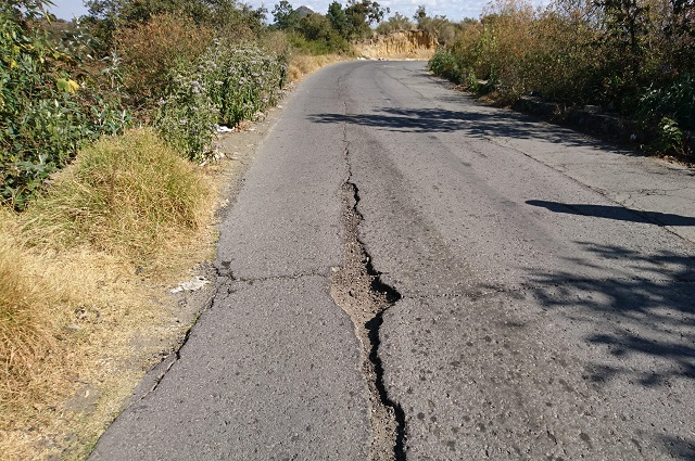 Ignoran daños de S19 en ruta de evacuación en San Mateo Ozolco