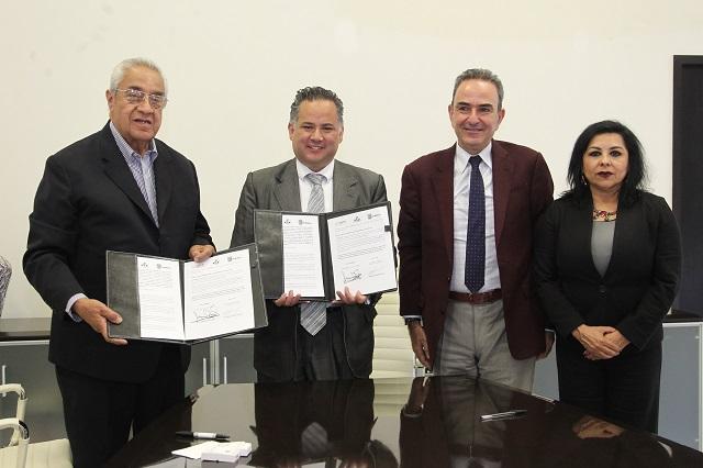 Pacheco y Nieto firman convenio para intercambiar información