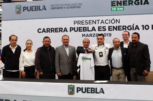 Presentan la carrera Puebla es Energía 10k