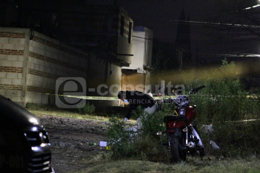 Matan a tiros a motocilista en Minerales del Sur