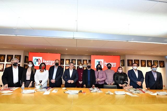 El PRI y Sí Por México impulsan acuerdo para el 2021