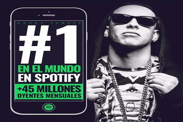 Daddy Yankee, el #1 en Spotify