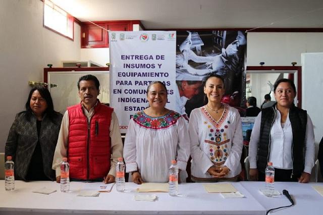 SGG equipa parteras tradicionales de comunidades indígenas