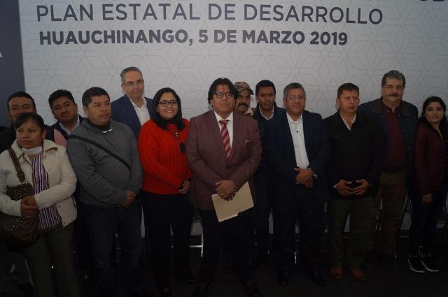 Inician en Huauchinango foros para Plan Estatal de Desarrollo