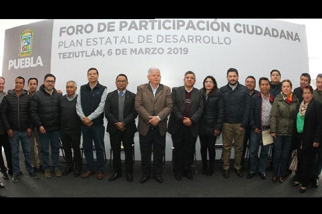 Abordan seguridad, en Foro de Participación Ciudadana en Teziutlán
