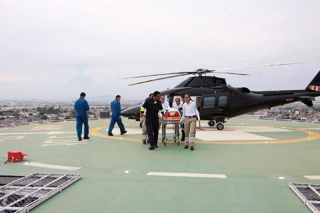 Helicóptero Agusta realiza más de 30 traslados médicos