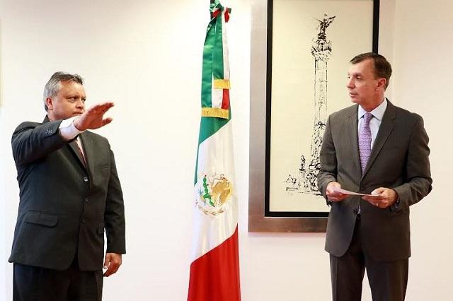 Nombran a Mario Barrera como delegado de la Profepa en Puebla
