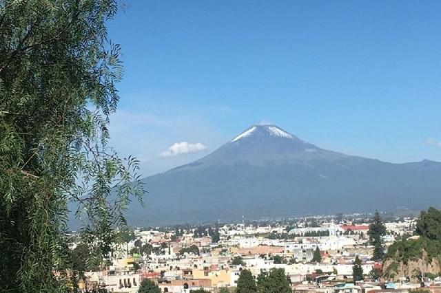 Estable el Popocatépetl, reporta Protección Civil del estado
