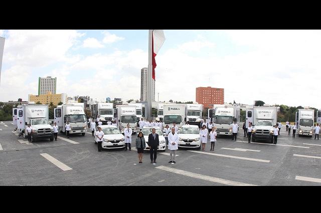 Arrancan Unidades Móviles para detectar enfermedades en Puebla