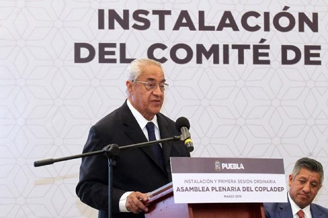 El estado impulsa crecimiento y bienestar: Pacheco Pulido