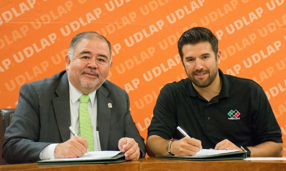 UDLAP y Grupo MEXLOG, de autotransportes firman convenio