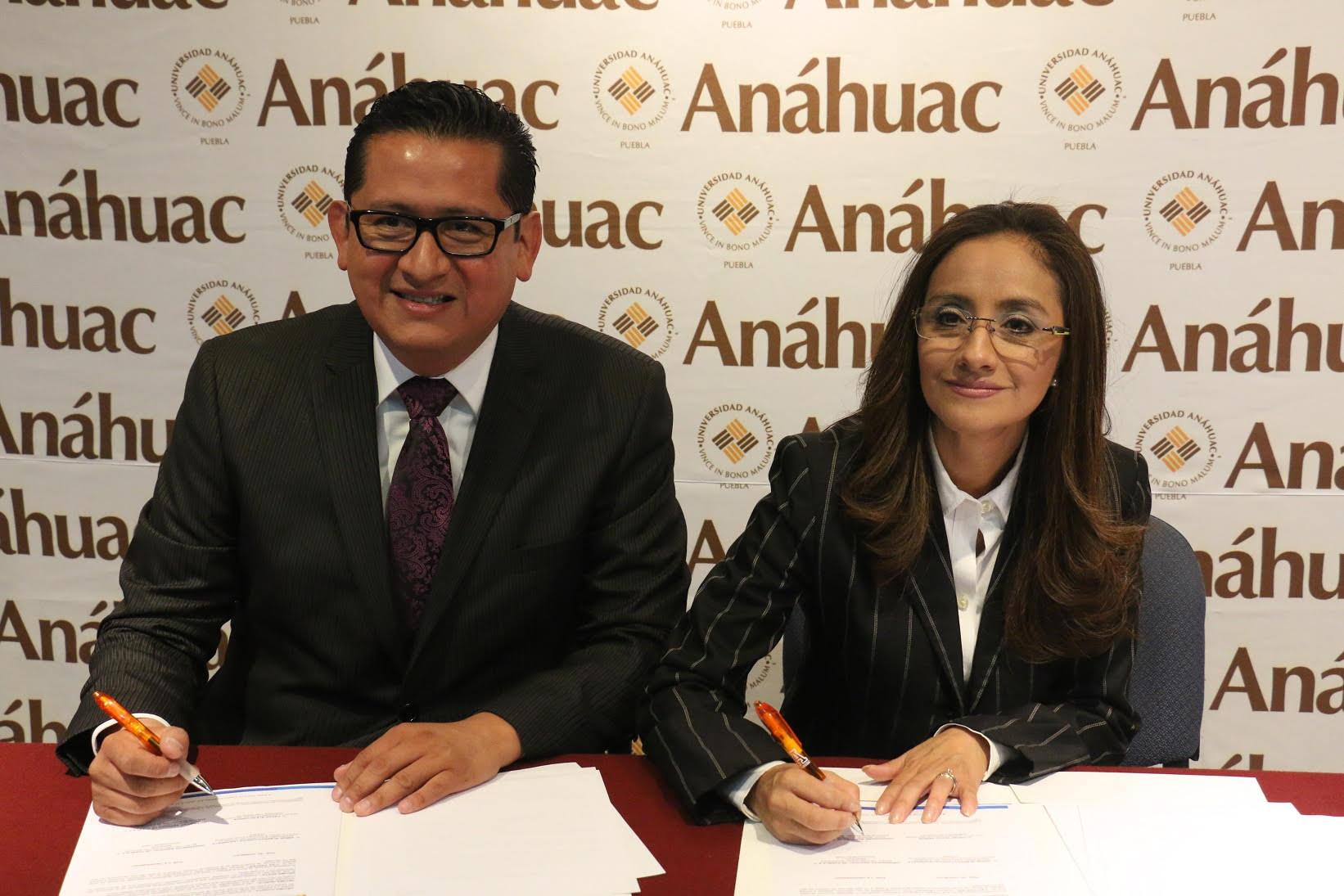 Firma Anáhuac convenio académico con el Consejo de Cultura de Puebla