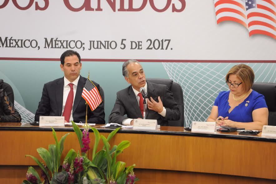Dialogan México-EU sobre migración y comercio en Reunión Interparlamentaria