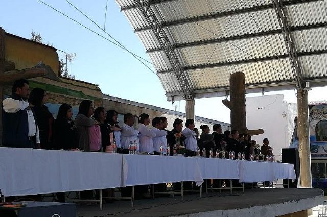 Rindieron protesta 585 presidentes de juntas auxiliares: SGG