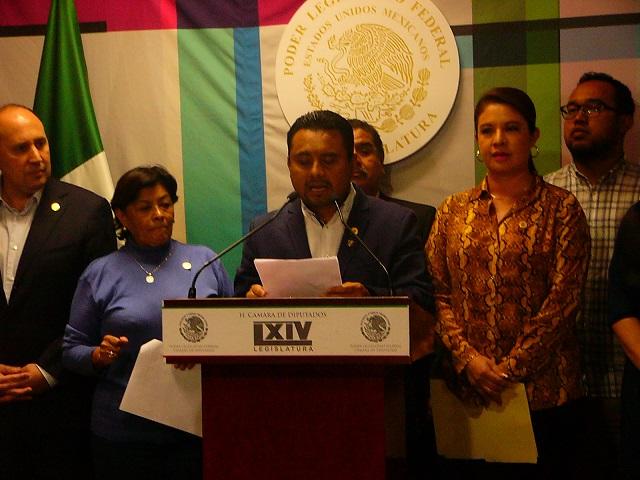 Anular elección en Puebla, exigen diputados desde San Lázaro