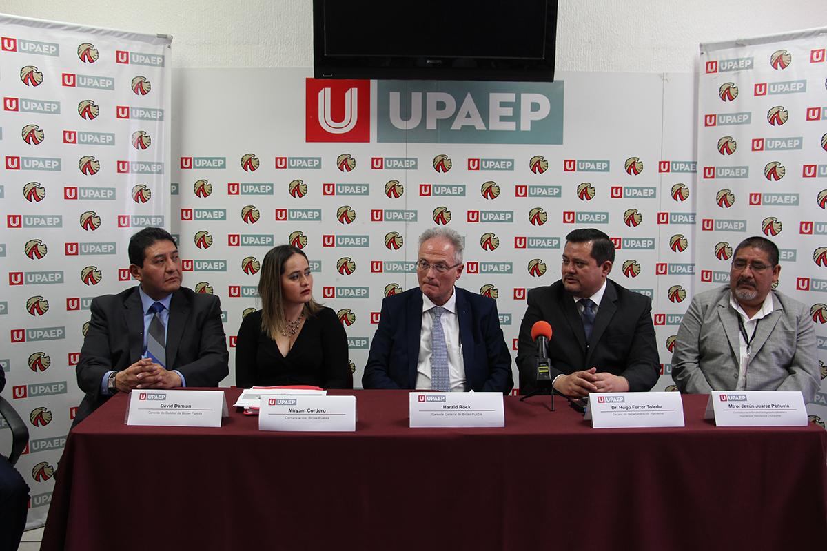 Ingenierías UPAEP gana premios en concurso de la empresa Brose