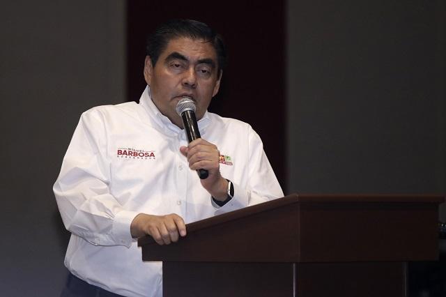 Barbosa va por eliminación del fuero y revocación de mandato