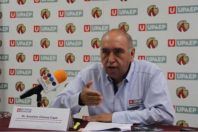Complicado cierre de año por pobre crecimiento y falla en reformas: Upaep