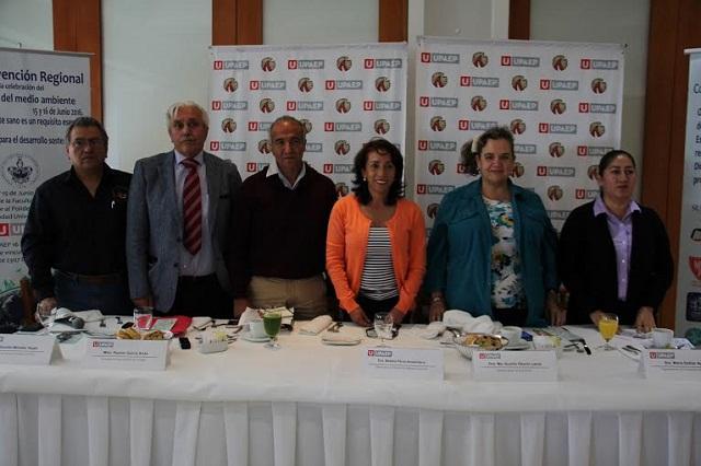 UPAEP y BUAP reciben convención sobre medio ambiente
