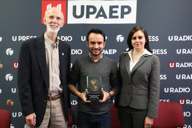 Gana Upaep premio de la ONU por proyectos sustentables